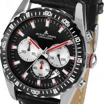 Jacques Lemans Sport Liverpool new Quartz Watch with original box and original papers 1-1801C