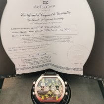 DeLaCour Steel 50mm Automatic DeLaCour Bichrono limited Edition new