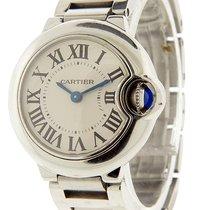 Cartier Ballon Bleu 28mm Acier 29mm Blanc Romains