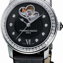 Frederique Constant Ladies Automatic Double Heart Beat Steel 38.5mm United States of America, New York, Brooklyn