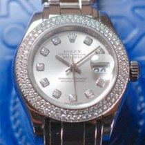 Rolex Datejust Pearlmaster Lady Whitegold, Original Dia