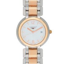Longines PrimaLuna Quartz Steel/Gold Ladies Watch – L8.112.5.16.6