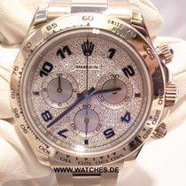 Rolex Daytona White Gold Diamond Pave Dial - 116509