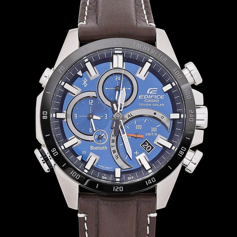3446d80a1d41 Casio Edifice Solar with Bluetooth EQB-501XBL-2AJF - EQB-501XB... for  379  for sale from a Trusted Seller on Chrono24