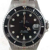 Tudor 1992 Submariner Midsize Black Dial And Black Bezel