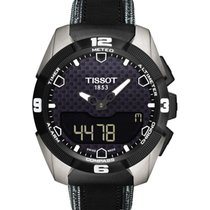 Tissot 45mm Cuarzo nuevo T-Touch Expert Solar Negro