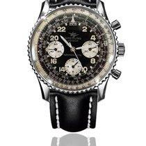 Breitling Steel Manual winding Black Arabic numerals pre-owned Navitimer
