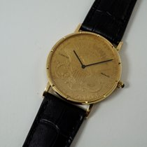 Corum Coin Watch Yellow gold 35mm Gold No numerals United States of America, Texas, Houston