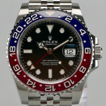 Rolex GMT-Master II--126710BLRO--PEPSI--LC-EU--FULLY STICKERED--