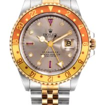"Rolex Gmt-master II ""root Beer"", Reference 16713 A Yellow..."