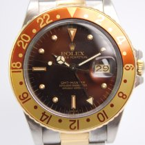 Rolex GMT-Master Rootbeer Nipple Dial 16753 #1029 Box