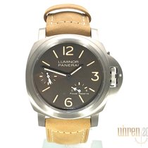 Panerai Luminor Titanium 44mm Brown Arabic numerals