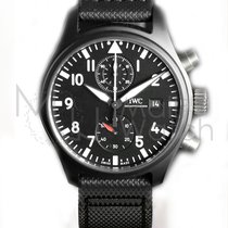 IWC Pilot Chronograph Top Gun Ceramic 44mm Black