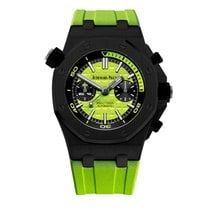 Audemars Piguet Royal Oak Offshore Diver Chronograph Steel 42mm Green