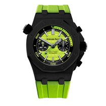 Audemars Piguet Steel Automatic Green 42mm new Royal Oak Offshore Diver Chronograph