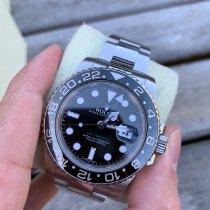 Rolex GMT-Master II Steel 40mm Black No numerals Finland, ESPOO