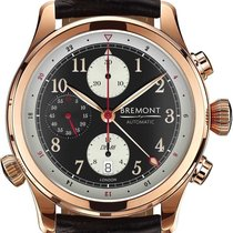 Bremont Rose gold Automatic Arabic numerals 43mm new