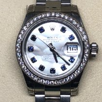 Rolex Lady-Datejust 179384 New Steel 26mm Automatic