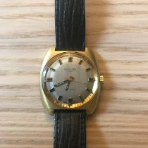 Longines Record pre-owned 35mm Leather