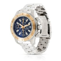 Breitling Superocean Chronograph II Gold/Steel 44mm Black United States of America, New York, New York