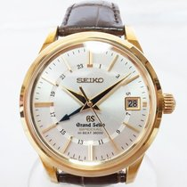 Seiko Yellow gold 39mm Automatic SBGJ008 pre-owned