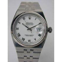 Rolex Datejust Oysterquartz 36mm Biały Rzymskie