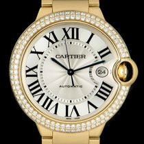 Cartier Ballon Bleu 42mm Желтое золото 42mm Cеребро Римские