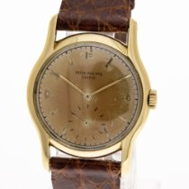 Patek Philippe Calatrava pre-owned Leather