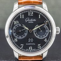 Glashütte Original Senator Observer Steel 44mm Black Arabic numerals United States of America, Massachusetts, Boston