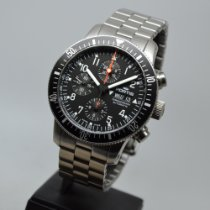 Fortis Steel 42mm Automatic 638.10.11 M pre-owned