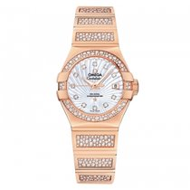 Omega Constellation Ladies Rose gold 27mm Mother of pearl United States of America, Florida, Miami