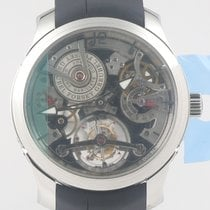 Greubel Forsey Double Tourbillon 30° Platine 47.5mm Transparent