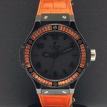 Hublot Big Bang Tutti Frutti Orange 38mm Black Ceramic Case...