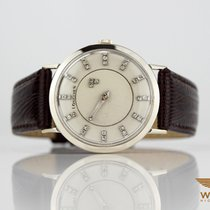 Longines Vintage Mystery 750 / 18K Weiss Gold White Diamond