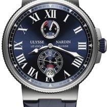 Ulysse Nardin Marine Chronometer Manufacture Blue