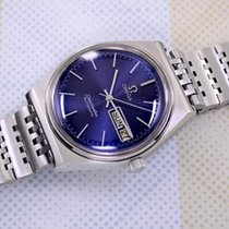 Omega Mens Seamaster Cosmic Blue Dial with box Cal 1022 Automatic