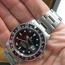 Rolex Mens Gmt-master II Steel Pre Owned, Coke Bezel / Black...