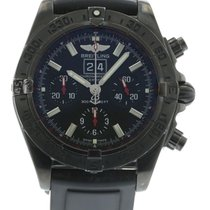 Breitling Blackbird M44359 Watch with Rubber Bracelet and PVD,...