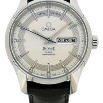 Omega De Ville Hour Vision Stahl Silber Schweiz, Geneve