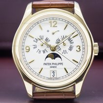 Patek Philippe 5146J-001 Annual Calendar Cream Dial 18K Yellow...