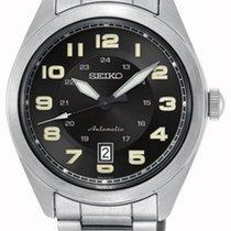 Seiko SRPC85K1 SEIKO SPORT Automatico Acciaio Nero Data 42,9mm новые