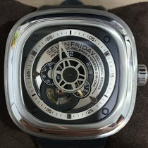 Sevenfriday 47mm Automatic pre-owned P1B-1 Silver