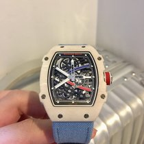 Richard Mille Carbon 38.7mm Automatic RM67-02 Quartz TPT pre-owned Indonesia, Jakarta