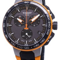 Tissot T-Race Cycling Acero 44.5mm Negro