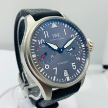 IWC Big Pilot tweedehands 46mm Grijs Textiel