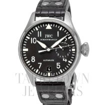 IWC Big Pilot Steel 46mm Black Arabic numerals United States of America, New York, Hartsdale