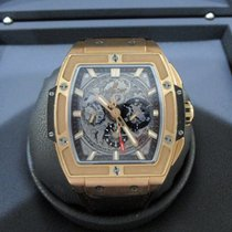 Hublot Spirit of Big Bang pre-owned 42mm Transparent Chronograph Date Fold clasp