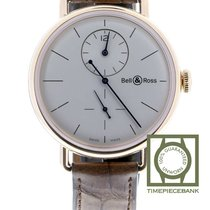Bell & Ross Rose gold Automatic Silver 42mm new Vintage