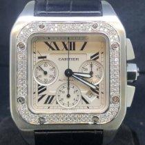 Cartier Santos 100 2740 / W20090X8 2010 używany