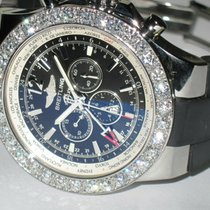 Breitling Bentley GMT Steel 49mm Black No numerals United States of America, New York, NEW YORK CITY